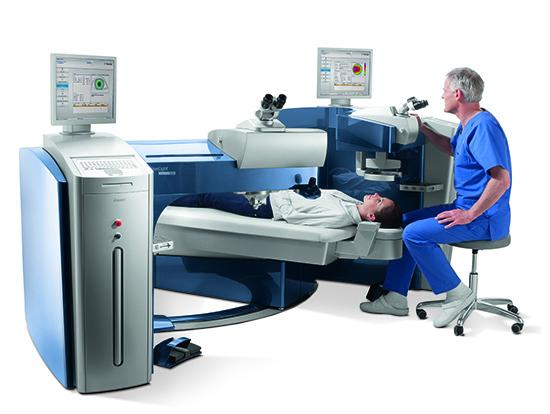 Novas tecnologias permitem maior segurança na realização de cirurgias refrativas.