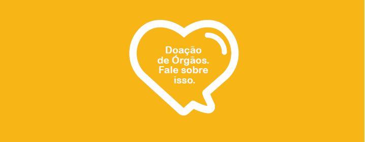Coração laranja