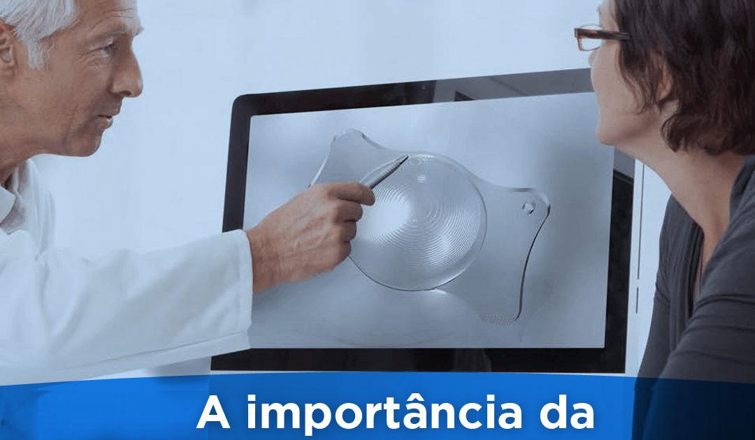 a importancia da lente intraocular