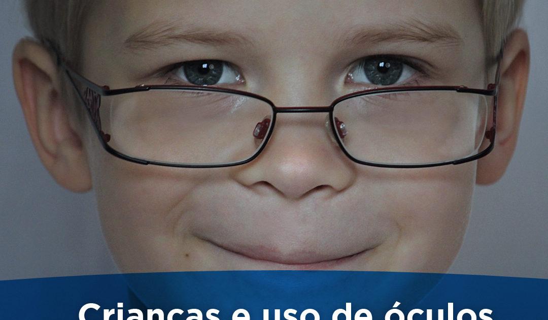 criancas e o uso de oculos
