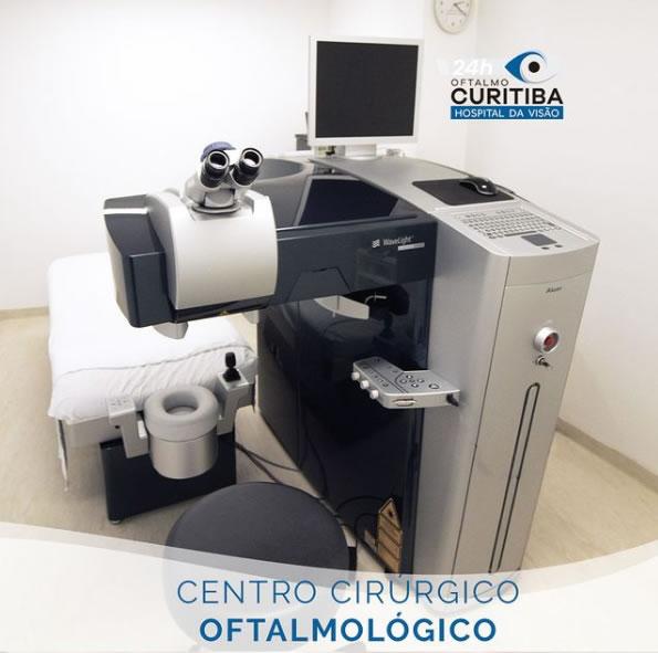 centro cirurgico oftalmológico em curitiba