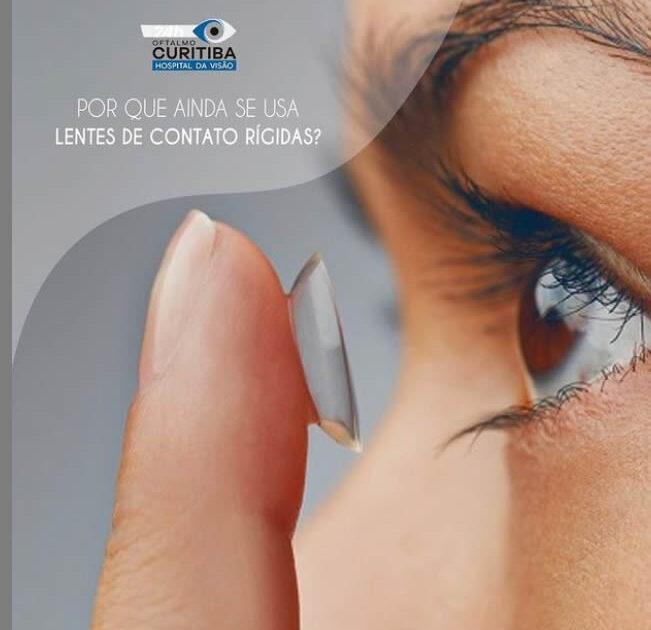 por que ainda se usa lentes de contato rigidas em curitiba